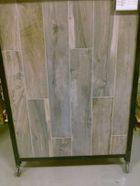 Soft Ash Wood Plank Porcelain Tile Sku