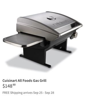 Cuisinart all foods gas grill (barbecue) for Sale in Germantown, MD