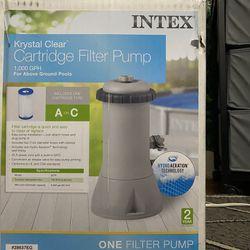 Brand New  , Unopened Krystal Clear Intex Filter 1000gph  Thumbnail