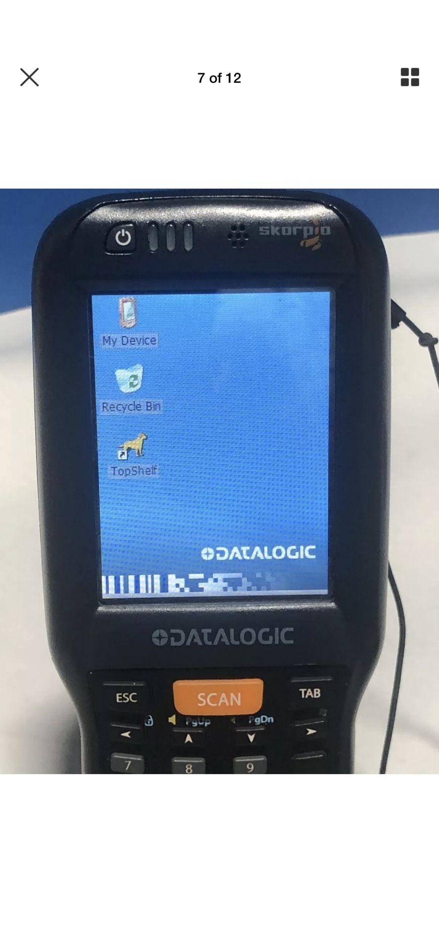 Datalogic Skorpio Scanner w/Trigger and docking Stations