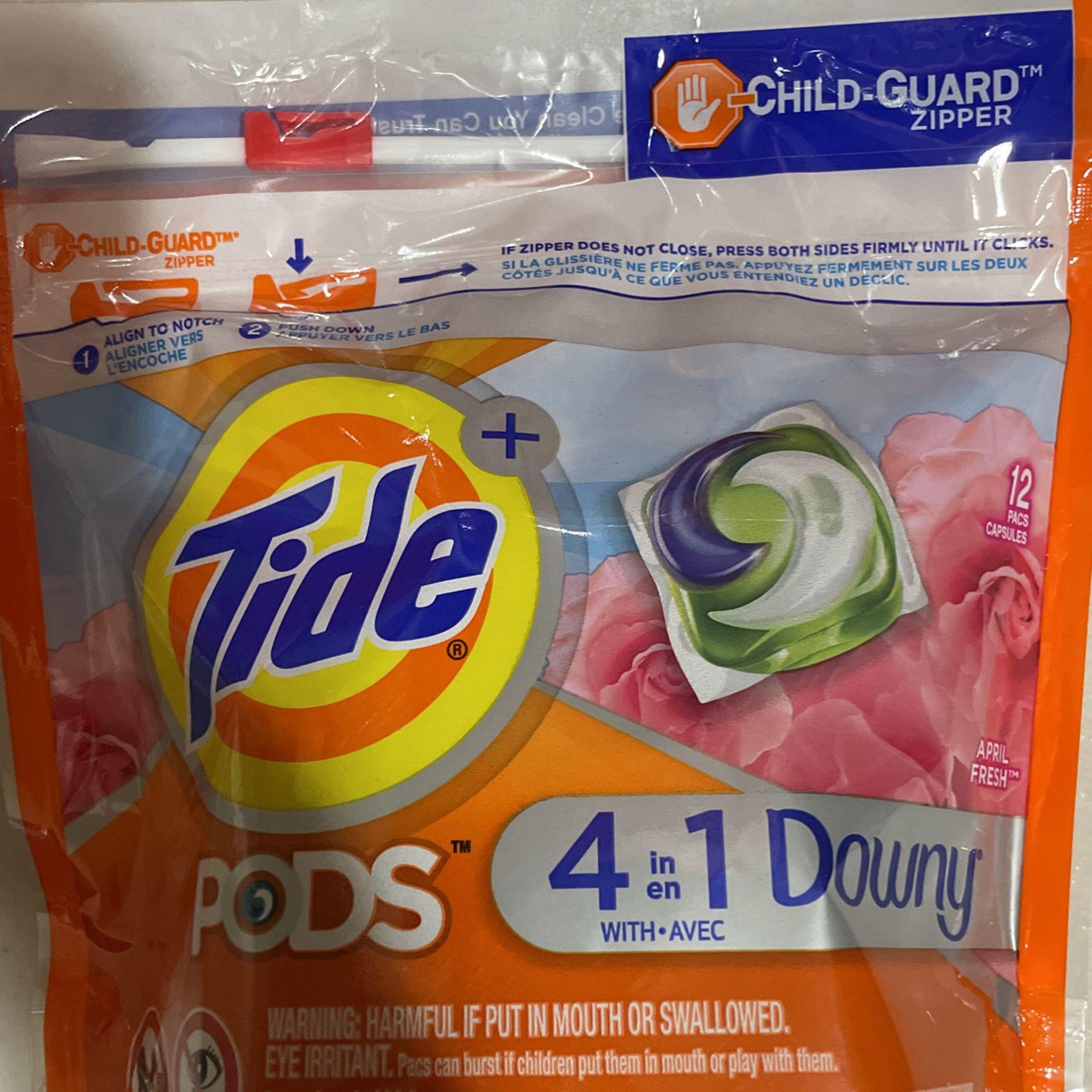 Tide Pods Bundle 12 Ct In Each Bag