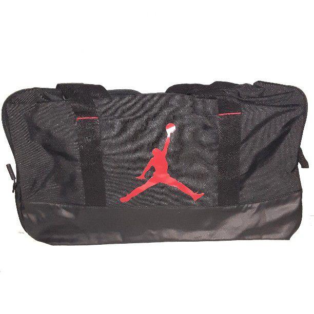 Jordan Duffel bag Black And Red