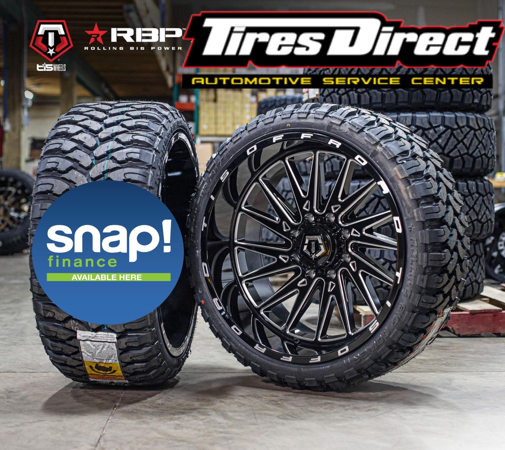 Truck Wheel Tire On Sale 39$ Finance Fee Only