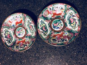 2 antique Porcelain small plates for Sale in Silver Spring, MD