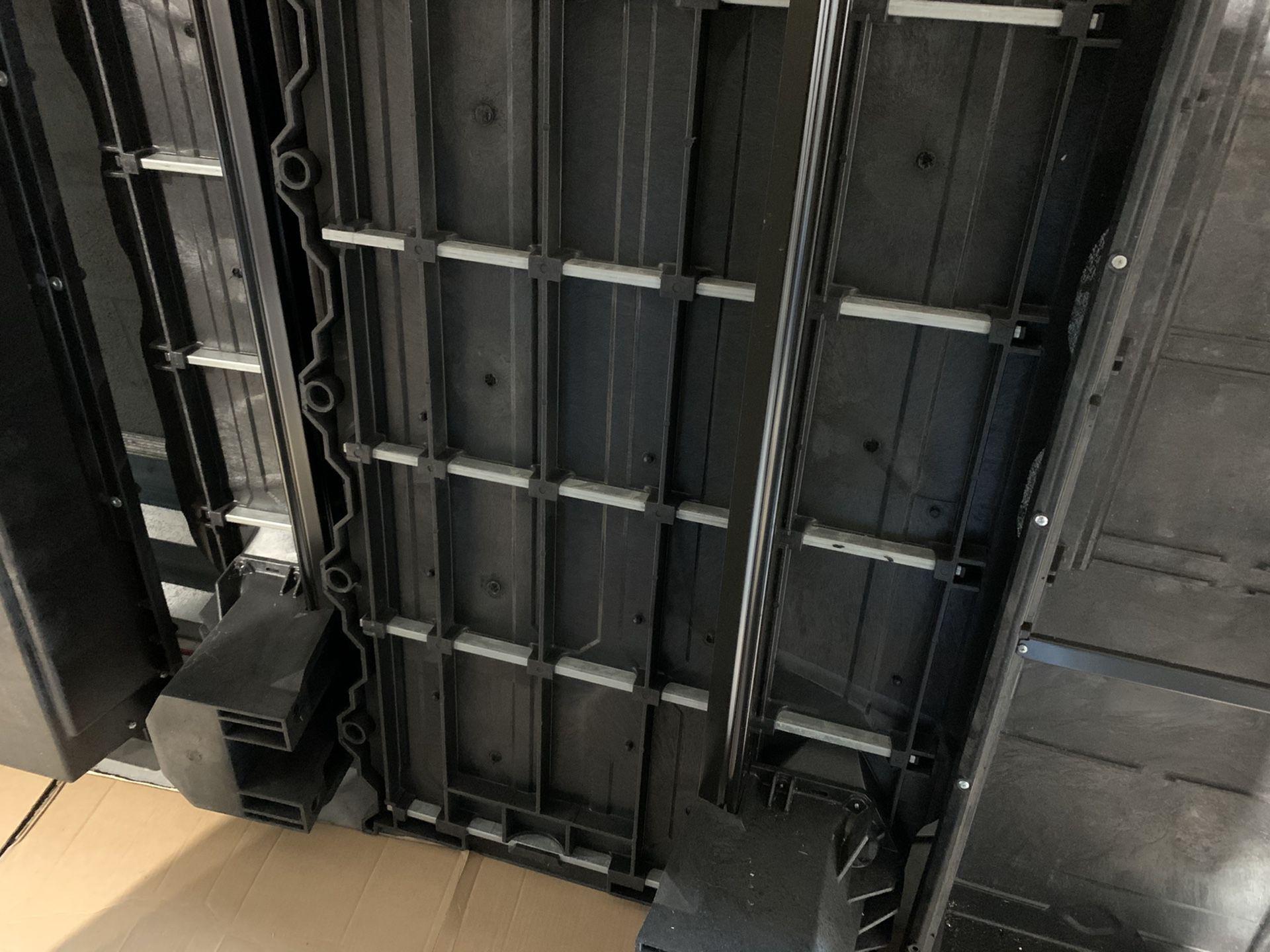 Truck bed storage system
