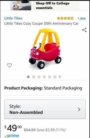 Photo New Little Tikes Cozy Coupe