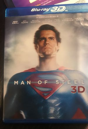 Man Of Steele 3D + Blu Ray for Sale in Seattle, WA