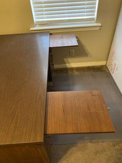 Solid wood desk Thumbnail