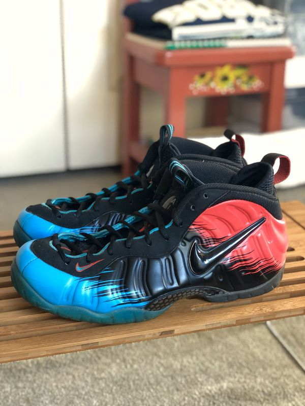 """1c917334cb9 NIKE Air Foamposite Pro """"SPIDERMAN"""" (2014) - Size 9.5 for Sale in ..."""