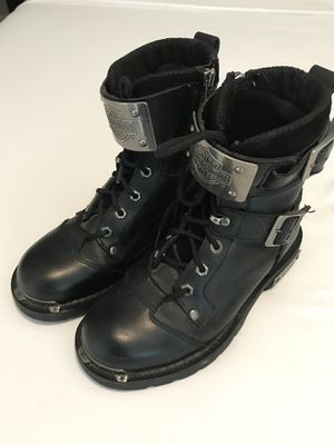 Motorcycle boots - Harley Davidson men's size 7 for Sale in Houston, TX
