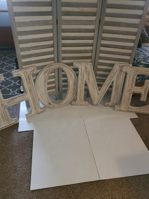 Photo LARGE WOOD LETTERS DECOR 22NEW