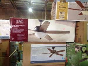 Home decorators collection 60 inch McFarland great room ceiling fan for Sale in Phoenix, AZ