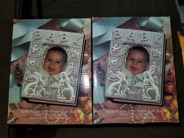 2 Silver Plated Baby Album For Sale In Plantation Fl Offerup