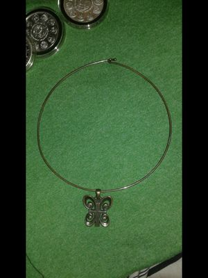 James Avery Silver Butterfly Cross Necklace Choker $80 for Sale in Dallas, TX
