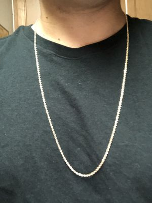 14k rope chain 2mm 30 inches long 7g for Sale in Winter Park, FL