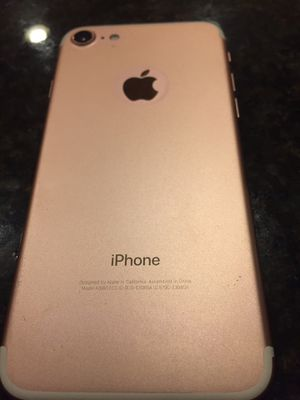 Unlocked iPhone7 256GB for Sale in Reston, VA