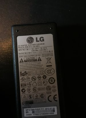 LG Adapter for Media Players or Mini Laptops $4.00 for Sale in Los Angeles, CA