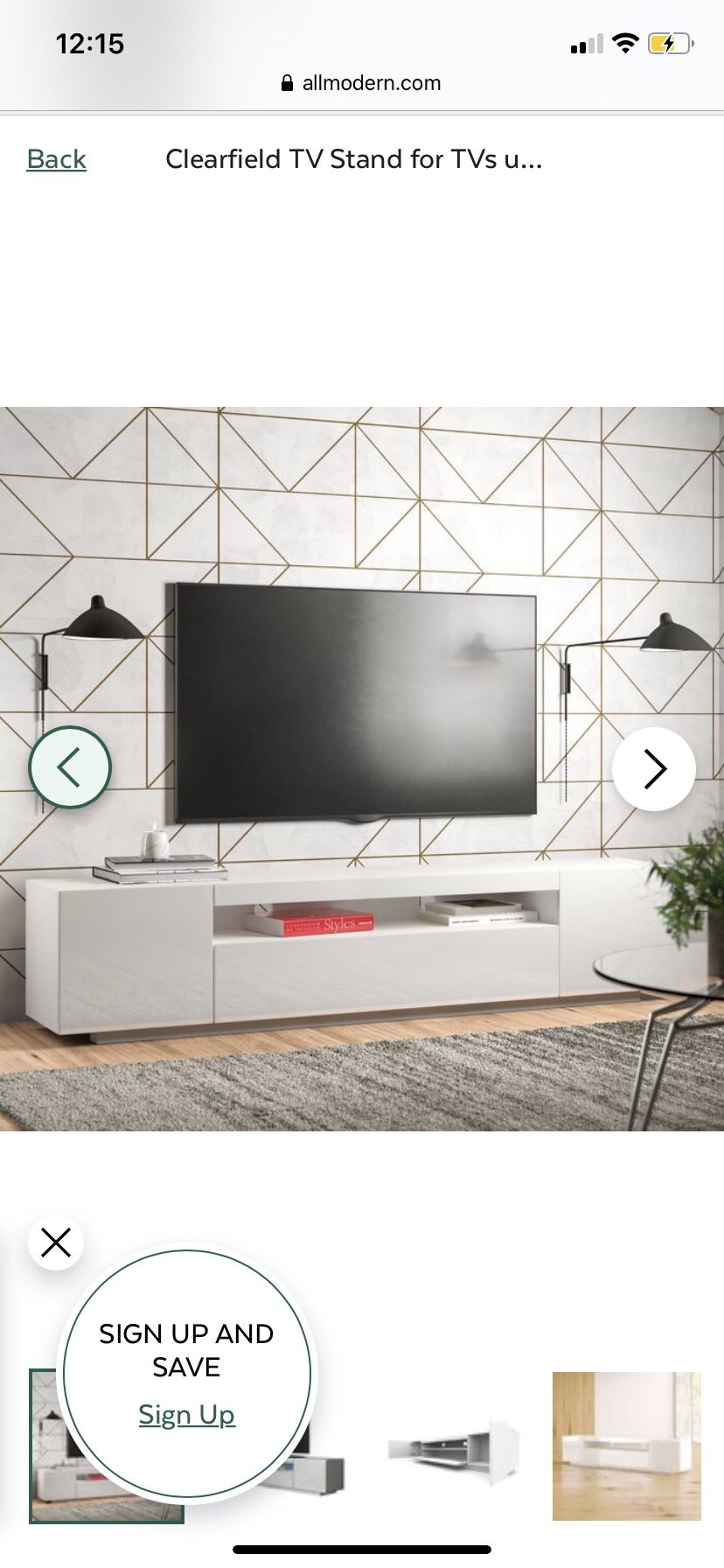 Tv Stand (come pick up I literally have exact same one)