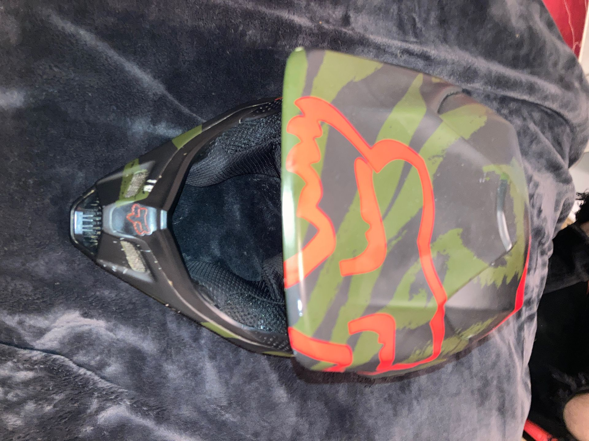 Photo Fox helmet for motorcycles
