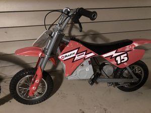 Razor MX 300 $250 OBO for Sale in Gaithersburg, MD
