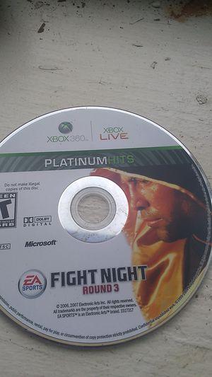 Fight night round3 for Sale in Flint, MI