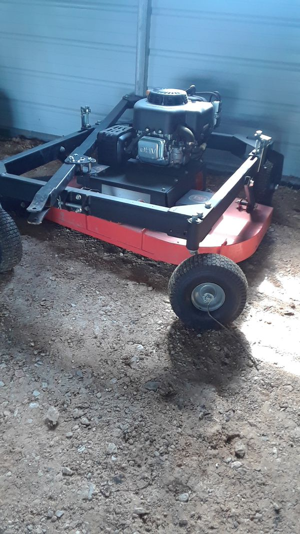 Dr field tow behind mower l for Sale in Manor, TX - OfferUp