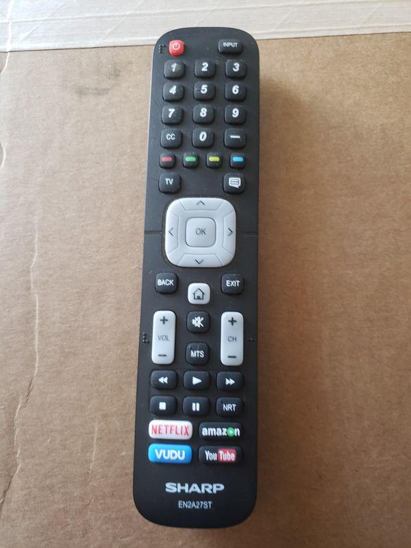 Sharp Smart Tv Remote