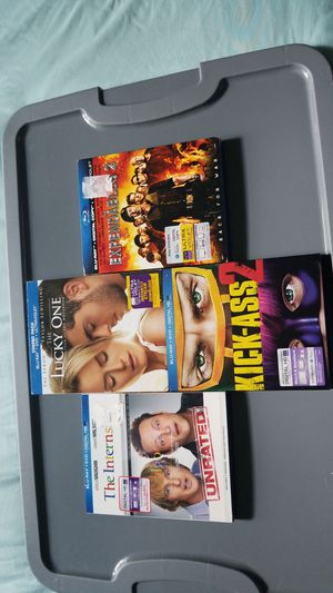 blu ray movies for Sale in Frederick, MD