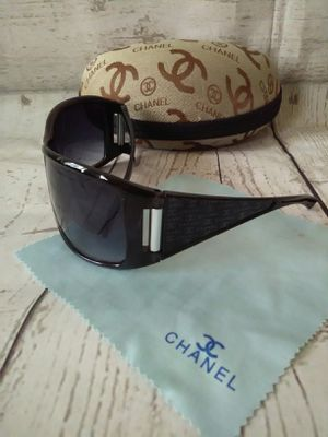 Authentic Chanel Sunglasses ( used twice ) for Sale in Frederick, MD