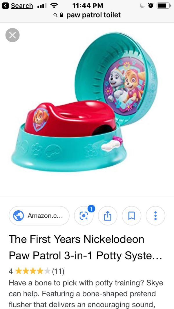 Magnificent Paw Patrol Toilet Trainer For Sale In North Las Vegas Nv Offerup Ncnpc Chair Design For Home Ncnpcorg