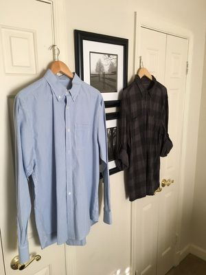 Men's Calvin Klein and Old Navy Shirts Size L for Sale in Alexandria, VA
