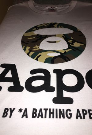 Aape by A Bathing Ape Camo Tee - L for Sale in Alexandria, VA