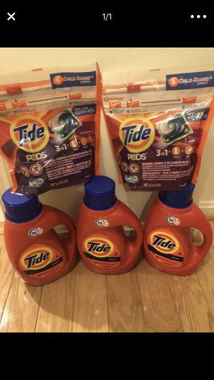 Tide & pods bundle for Sale in Springfield, VA
