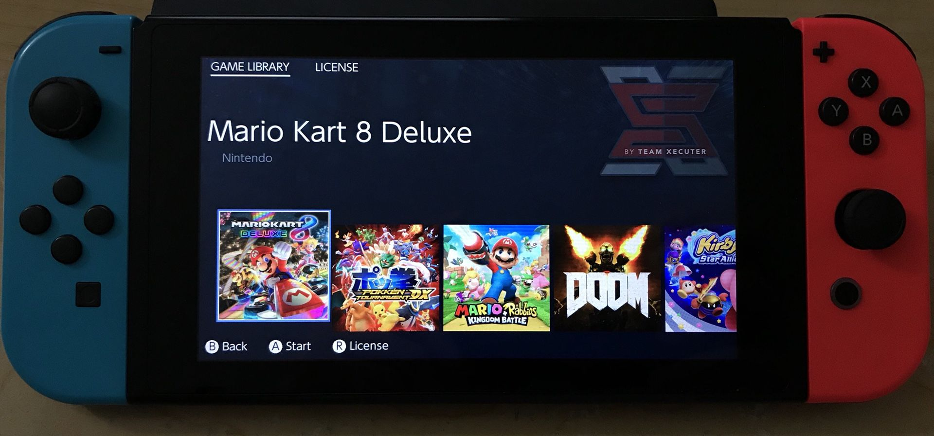 Nintendo Switch Mod Play Switch Games Team Xecuter