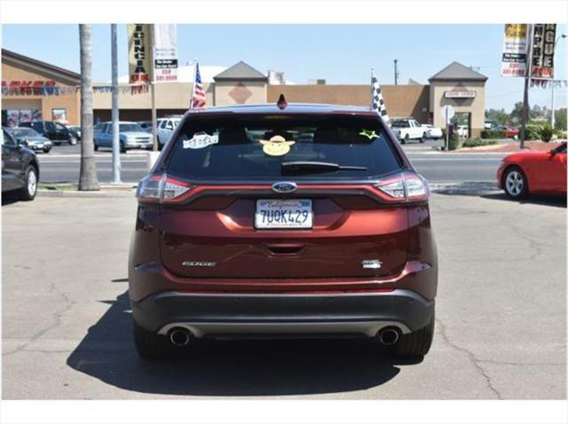 2016 Ford Edge Sel Sport Utility 4D