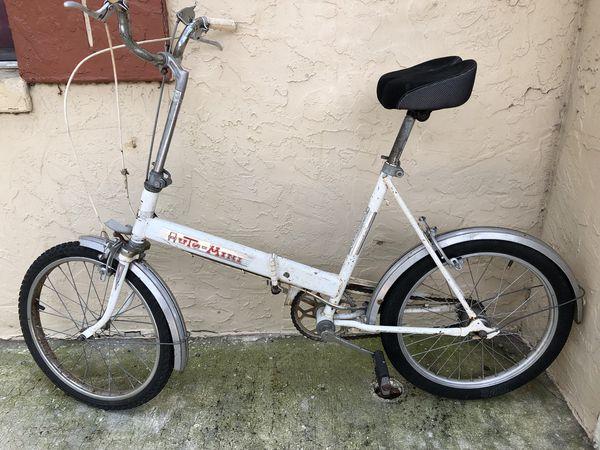 Auto Mini Folding Bike Vintage For Sale In Tampa Fl Offerup