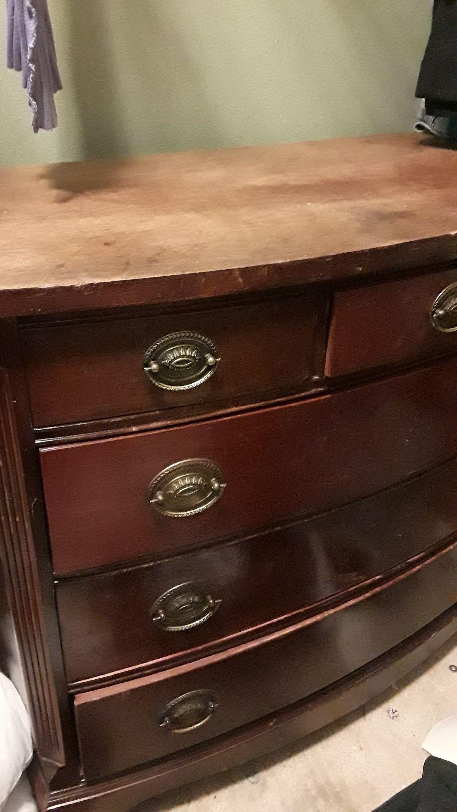 Antique federal style dresser circa 1830-1850 $115