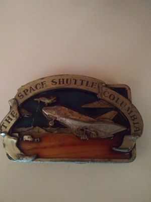 Space shuttle Columbia belt buckle for Sale in Denver, CO