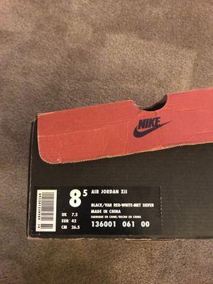 OG Air Jordan's 12 size 8.5 for Sale in Chillum, MD