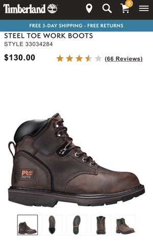 Timberland Pro Series Steel Toe for Sale in Herndon, VA