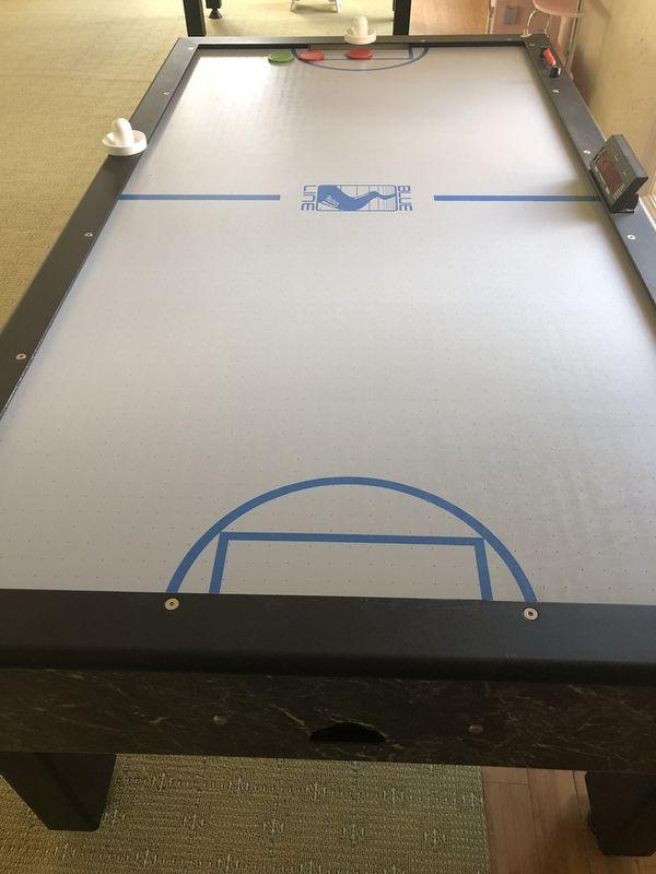 Shelti Blue Line Air Hockey Table For In Parkland Fl