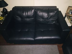 Leather couch and love seat for Sale in Washington, DC