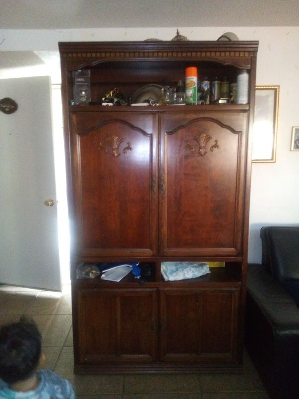 Tv Armoire Cabinet For Sale In Santa Ana Ca Offerup