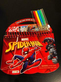 Spider-Man Color & Draw Activity Pad Thumbnail