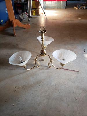 3 light chandelier for Sale in Lynchburg, VA