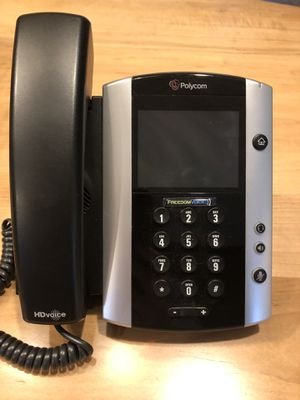 Polycom VOIP office phone set (5) for Sale in Gaithersburg, MD