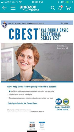CBEST PREP BOOK* excellent condition* for Sale in Signal Hill, CA