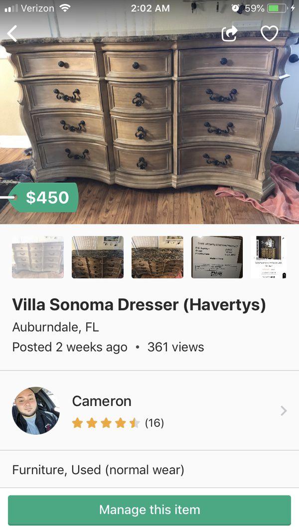 Villa Sonoma Dresser