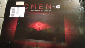 "OMEN by hp ecran 27"" monitor (BRAND NEW!) for Sale in Seattle, WA"