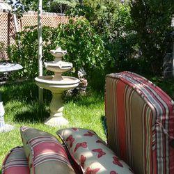 Lawn Chair Cushion / Have Three Sets, $30 Each Set Thumbnail